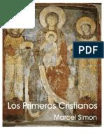 Simon Marcel Los Primeros Cristianos