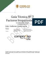 7.- GUÍA FACTORES BIOPSICOSOCIALES