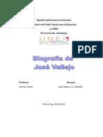 BIOGRAFIA DE JOSÉ VALLEJO