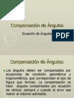 Compensacion de Angulos