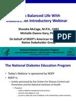 Living a Balanced Life With Diabetes