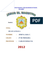Monografia - HUANCAVELICA