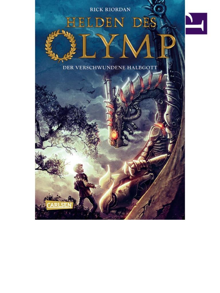 Der Verschwundene Halbgott (Helden Des Olymp 1, Rick Riordan)