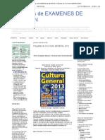 Xamenes de Admision_ Preguntas de Cultura General 2012