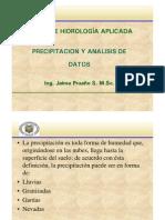 Microsoft PowerPoint - PRECIPITACION_ Curso Hidrologia 4 Agricola