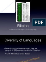 Filipino Language Presentation