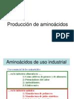 Produccion de Aminoacidos