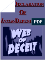 The Declaration Of Inter-Dependence
