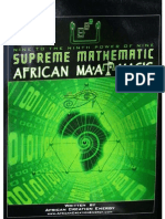 Supreme Mathematic African Ma'at Magic - African Creative Energy