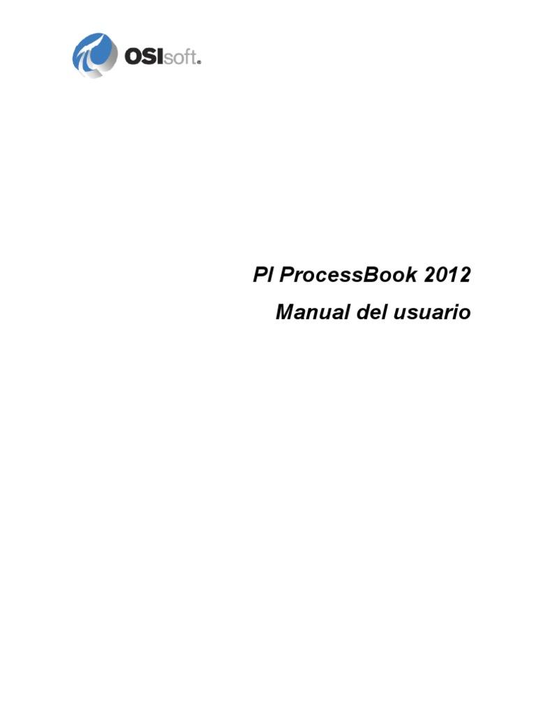 PI ProcessBook User Guide ES