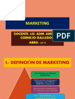 Marketing- Sistemas- Una Puno- 2013
