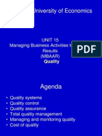 Quality Systems (2)