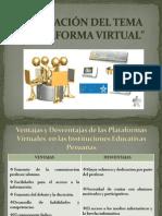 Evaluación Plataforma Virtual