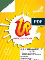 2012 - Enem UP - Matemática e Linguagens -  20-05 - Gabaritado