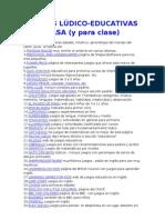 35 WEBS LÚDICO