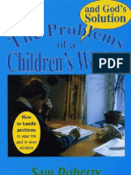 Problems of a Children's Worker and God's Solution