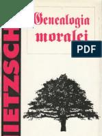 Friedrich Nietzsche-Genealogia Moralei-Mediarex (1996)