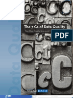 The Cs of Data Quality