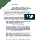 Red Pill Manifesto (Links)