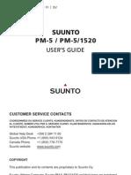 Manual Del Clinometro Suunto PM-5