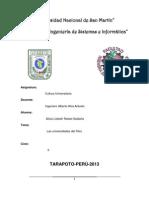 Universidades nacionales del Perú