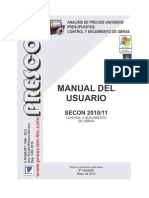 Manual Secon 2010