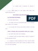 resumo código de processo civil - oficial escrevente