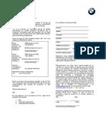 Contrato BMW Driver Training3217017
