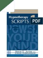 HYPNOTHERAPY SCRIPTS