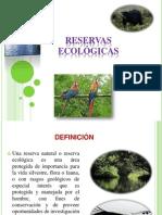 reservas ecológicas