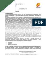 Anexo No 10 Especificaciones Tecnicas