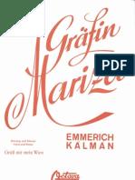 Graefin Mariza - Gruess Mir Mein Wien