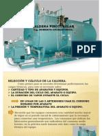 Calderas Pirotubulares, Plantas de Vapor Dic2012