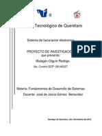 RODRIGO MALAGON OLGUIN Sistema de Facturacion Electronica