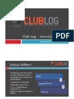 ClubLog presentation