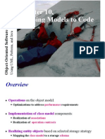 PMIT 6101 Lec 8 Mapping Models to Code