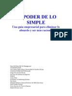 101566247 El Poder de Los Simple Parte1