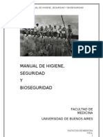 MANUAL de Higiene, Seguridad y Bioseguridad