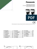 Manual Panasonic ES-RF41 ES-RF31