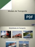 Modais de Transporte - 1