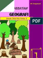 Buku Pendekatan Geografi untuk SMA/MA kelas X