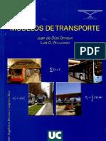 Modelos de Transporte by JUAN de DIOS ORTUZAR