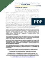 Comunicado por represión en San Juan Sacatepéquez