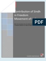 CONTRIBUTION OF SINDH IN MOVEMENT OF INDEPENDENCE OF INDIA