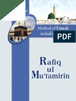 Rafiq ul Mu'tamirin, (English)