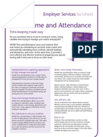 MYOB Time and Attendance