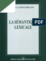 SEMANTIQUE LEXICALE