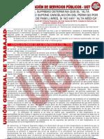 UGT Sentencia TS Permiso Hospitalización Alta Hospitalaria