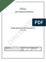 MF Technology101 Sample QP