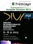 Tuxer Prattinge - Ausgabe Sommer 2013